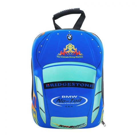 BMW Boys Backpack, Blue, PK-9705