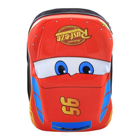 Cars Rusteze Boys Backpack, Red, PK-9705