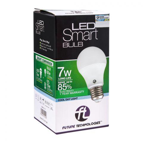 FT LED Smart Bulb, 7W, Cool Day Light