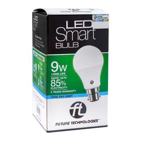 FT LED Smart Bulb, 9W, Holder Style, Cool Day Light