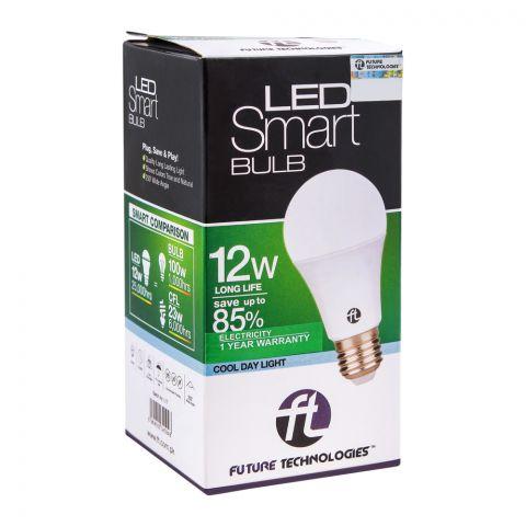 FT LED Smart Bulb, 12W, Cool Day Light