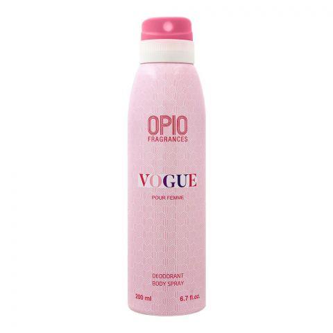 Opio Vogue Pour Femme Deodorant Body Spray, For Women, 200ml