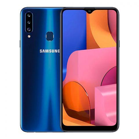 Samsung Galaxy A20S 3GB/32GB Smartphone, Blue, SM-A207