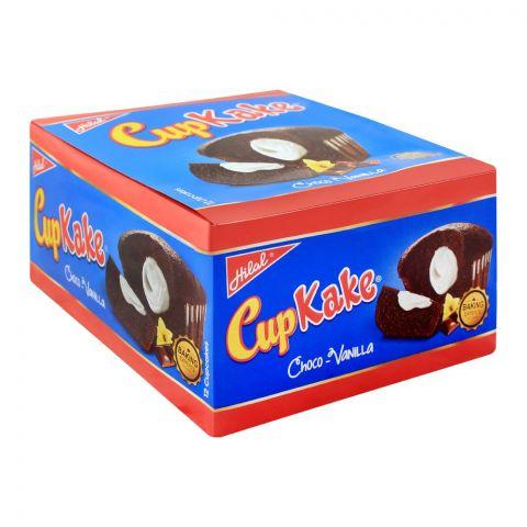 Hilal Cup Kake, Choco-Vanilla, 12 Pieces, 22g