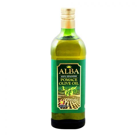Alba 100% Spanish Pomace Olive Oil, 1 Liter, Bottle