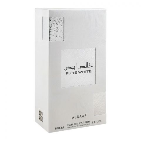 Asdaaf Pure White Eau De Parfum, For Men & Women, 100ml