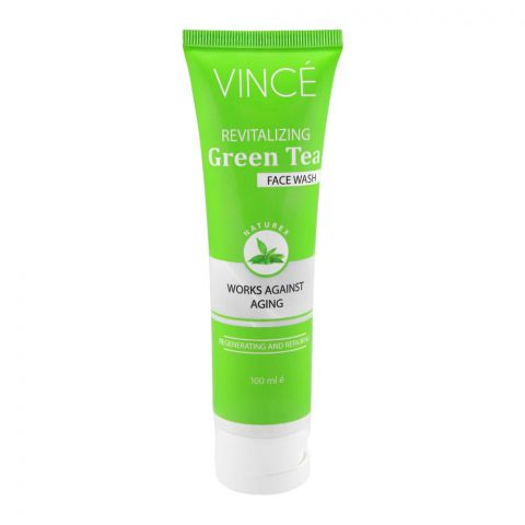 Vince Revitalizing Green Tea Face Wash, 100ml