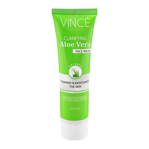 Vince Clarifying Aloe Vera Face Wash, 100ml