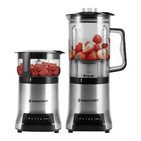 West Point Professional Blender and Chopper, 800W, WF-366