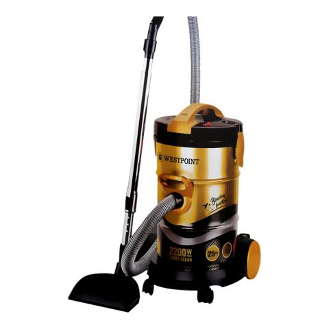 West Point Professional Vacuum Cleaner, 2200W, 25L, WF-3469