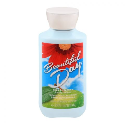 Bath & Body Works Beautiful Day Body Lotion, Shea & Vitamin E, 236ml
