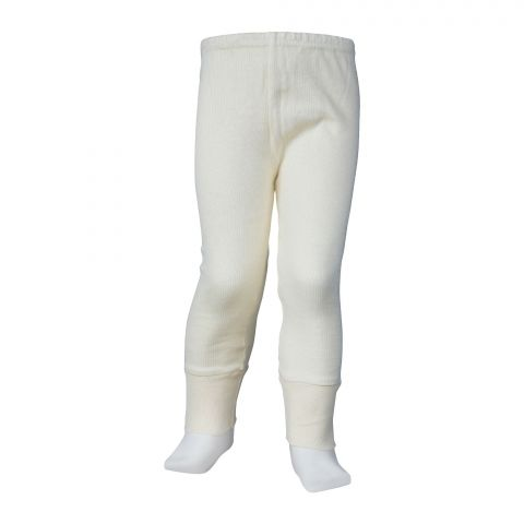 Lily Luxury Pure Woollen Warmer Trouser For Kids, Yellow