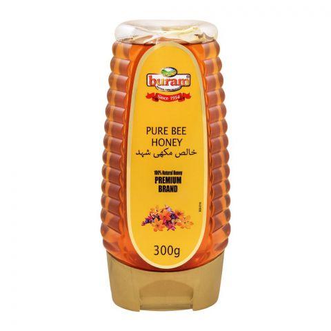 Buram Pure Bee Honey, 300g, Pet Bottle
