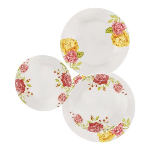 Corelle Impressions Plate Set, Emma Jane, 18 Pieces