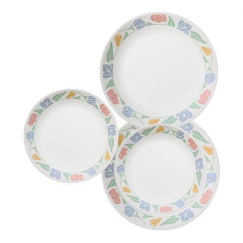 Corelle Livingware Plate Set, Friendship, 18 Pieces
