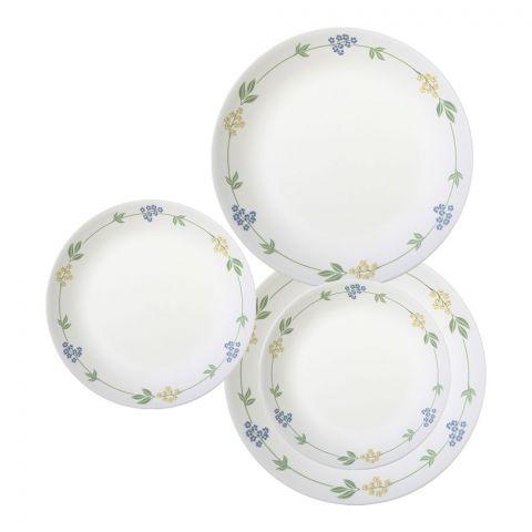 Corelle Livingware Plate Set, Secret Garden, 18 Pieces
