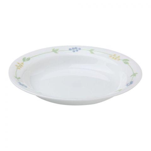 Corelle Livingware Secret Garden Rimmed Plate, 15oz