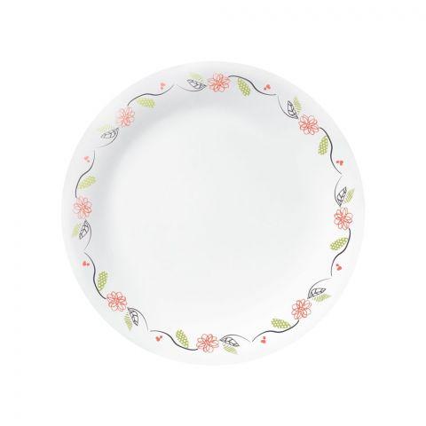 Corelle Livingware Tangerine Garden Luncheon Plate, 8.5 Inches