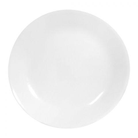 Corelle Livingware Winter Frost White Dinner Plate, 10.25 Inches
