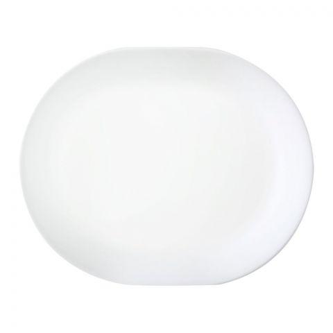 Corelle Livingware Winter Frost White Serving Platter, 12.25 Inches