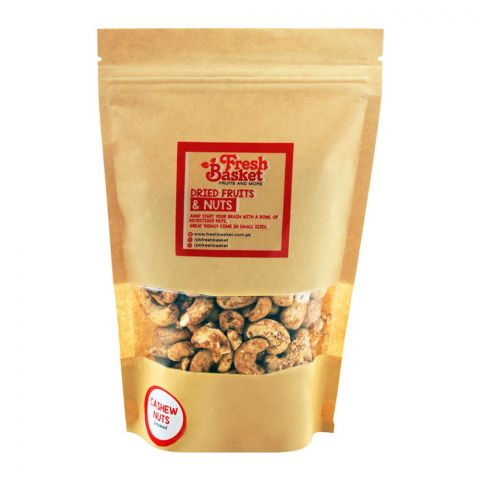 Fresh Basket Cashew Nuts (Kajoo), Smoked, 250g