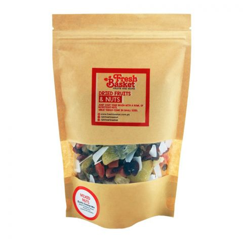 Fresh Basket Mixed Nuts, Exotic Cocktail Dry Fruit Mix, 250g
