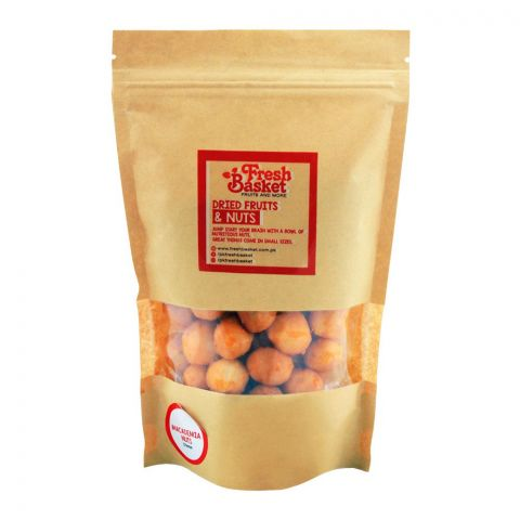 Fresh Basket Macadamia Nuts, Cheese, 250g