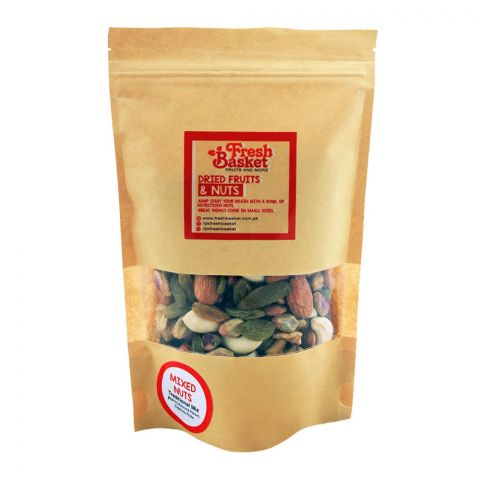 Fresh Basket Mixed Nuts, Traditional Mix Dry Fruits, 250g