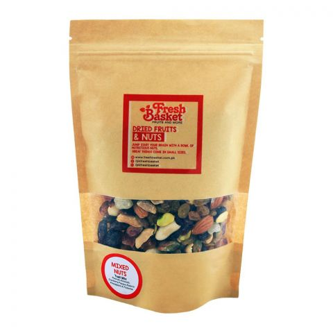 Fresh Basket Mixed Nuts, Trail Mix Dry Fruits, 250g