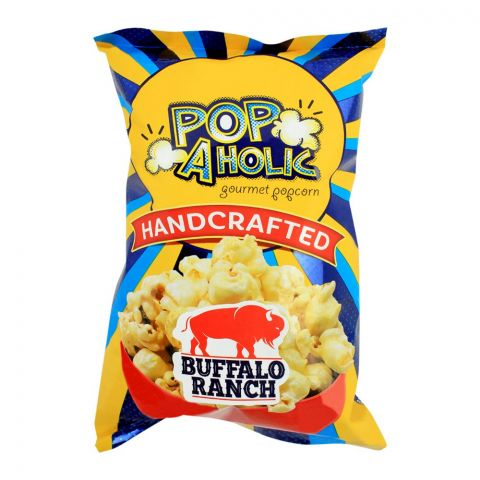 Popaholic Hand Crafted Buffalo Ranch Popcorn