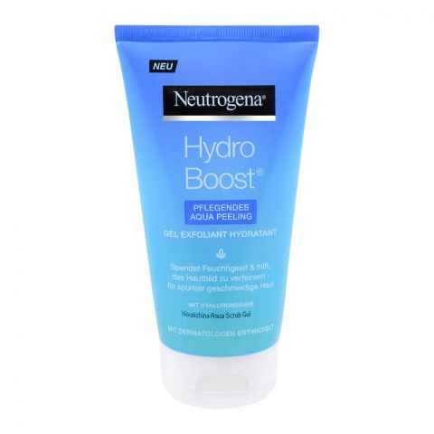 Neutrogena Hydro Boost Aqua Peeling Nourishing Aqua Scrub Gel, 150ml