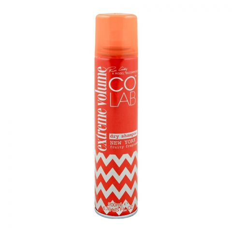 COLAB Extreme Volume Dry Shampoo, New York Fruity Fragrance, 200ml