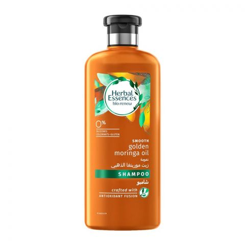 Herbal Essences Bio Renew Smooth Golden Moringa Oil Shampoo, 400ml