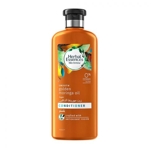 Herbal Essences Bio Renew Smooth Golden Moringa Oil Conditioner, 400ml