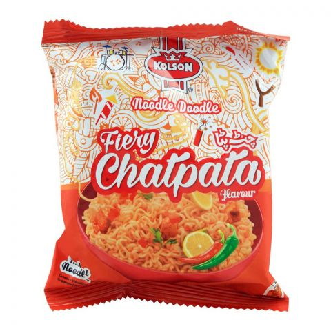 Kolson Instant Noodles, Fiery Chatpata, 65g