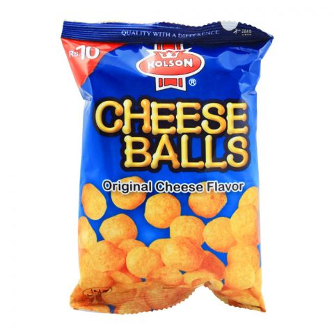 Kolson Cheese Balls, Original, 18g