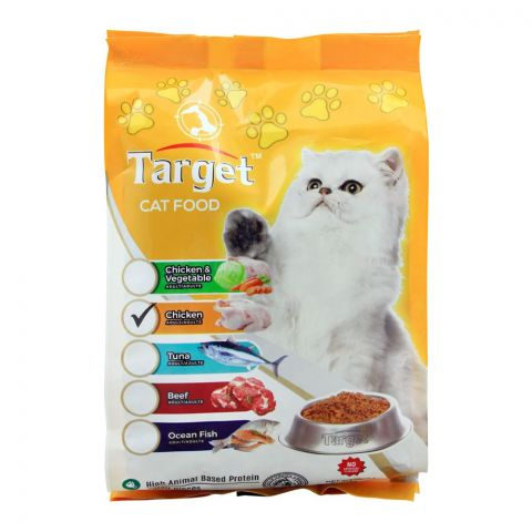Target Adult Cat Food, Chicken, 500g, Bag