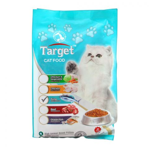 Target Adult Cat Food, Tuna, 500g, Bag