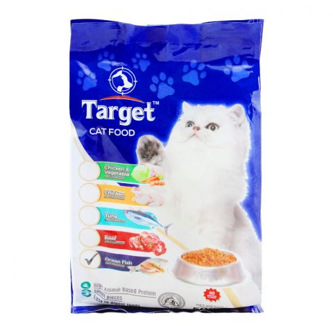 Target Adult Cat Food, Ocean Fish, 500g, Bag