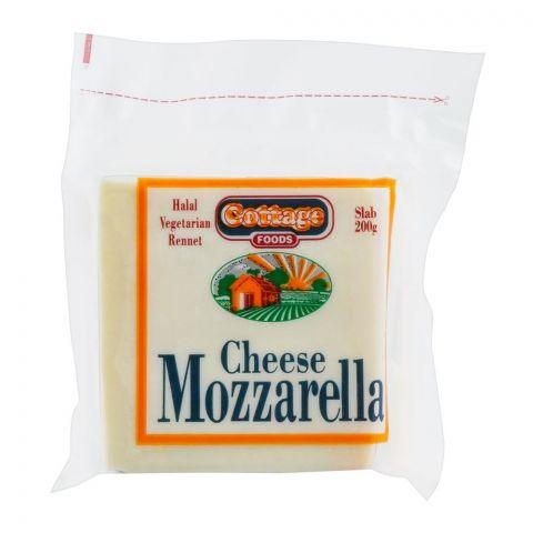 Cottage Mozzarella Cheese, Slab, 200g