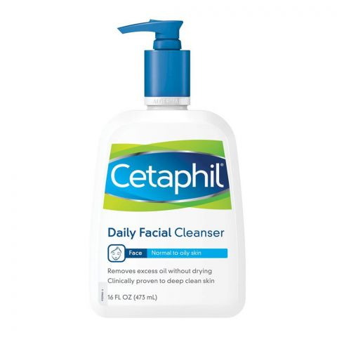 Cetaphil Normal To Oily Skin Daily Facial Cleanser, 473ml