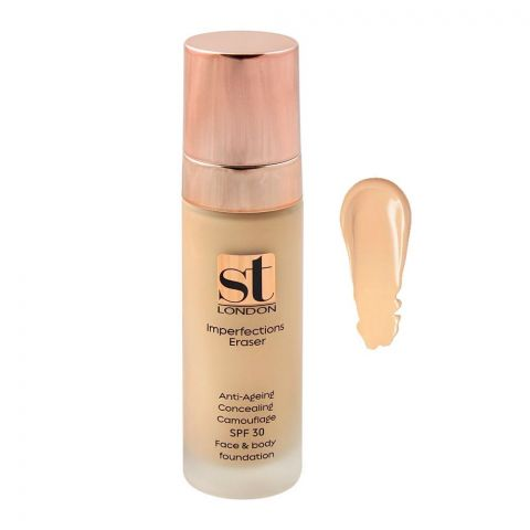 ST London Imperfection Eraser Concealing Foundation, SPF 30, Face & Body, IE 01