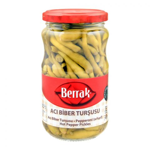 Berrak Hot Pepper Pickles, 340g
