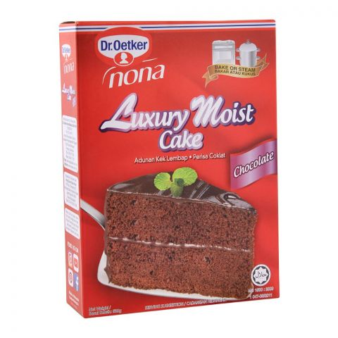 Dr. Oetker Luxury Moist Cake, Chocolate, 520g