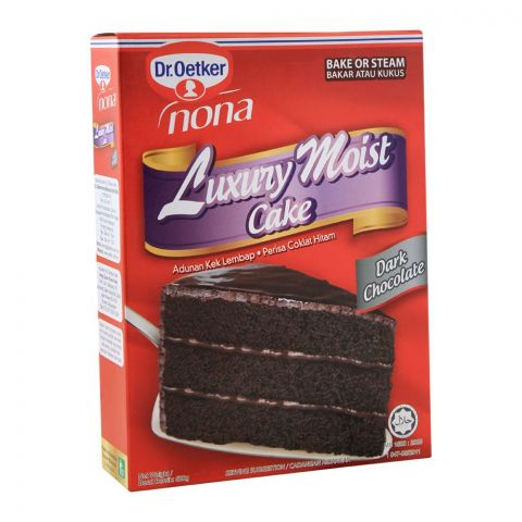 Dr. Oetker Luxury Moist Cake, Dark Chocolate, 520g