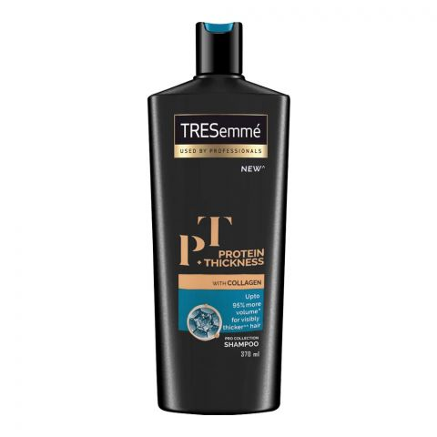 Tresemme Protein + Thickness With Collagen Pro Collection Shampoo, 370ml