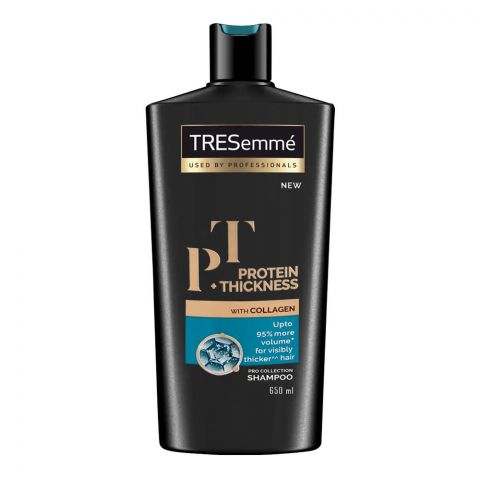 Tresemme Protein + Thickness With Collagen Pro Collection Shampoo, 650ml