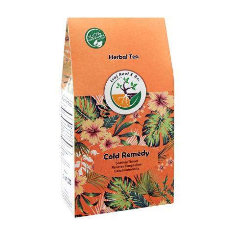 Leaf Root Cold Remedy Herbal Tea Bag's, 20-Pack
