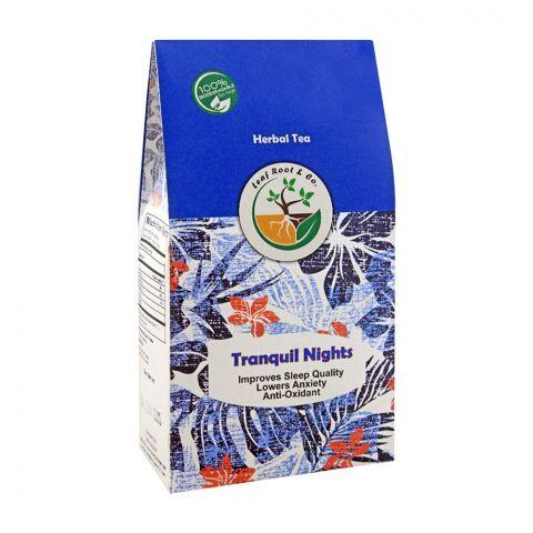 Leaf Root Tranquil Night Herbal Tea Bag's, 20-Pack