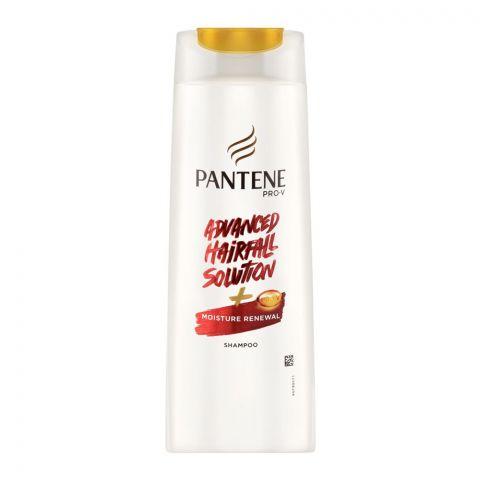 Pantene PRO-V Advanced Hairfall Solution + Moisture Renewal Shampoo, 185ml